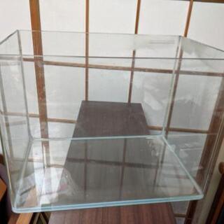 40センチ  オールガラスR型 水槽  ⑪