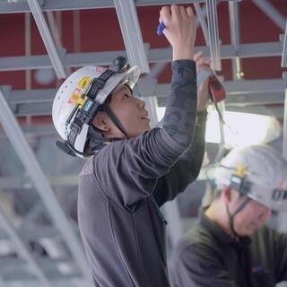 阪神間で軽天、ボード工募集中。【未経験でも月給25万円~】社会保...