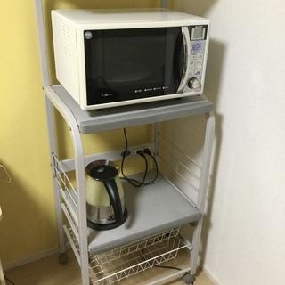 キッチンカウンター(レンジ収納棚)綾部市での出品3月末まで