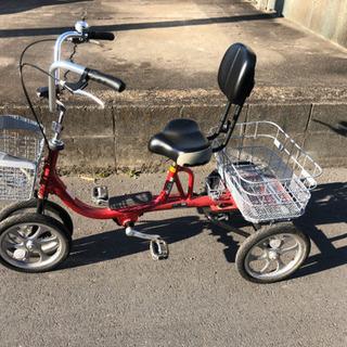 クークル 高齢者向け 四輪自転車 自立型で安定