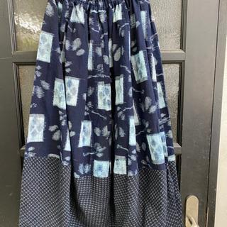 絣 スカート