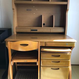 古い コイズミの学習机