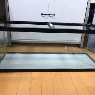 ガラス水槽 90 フィルター 殺菌灯 砂 ライド セット