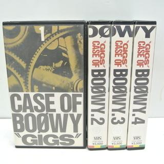 希少!! BOOWY ライブビデオ / CASE OF BOOW...