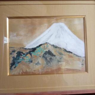 土牛画伯100歳の富士 複製画 取りに来てくれる方