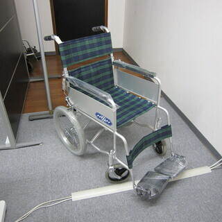【中古】 車椅子 日進製(介助式)