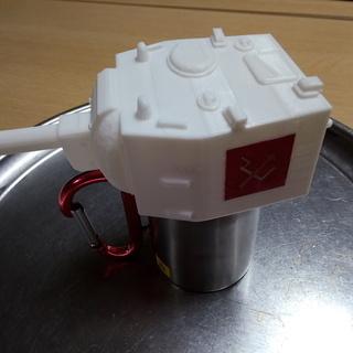 戦車kv2  カップの蓋 3Dプリンタで作成します
