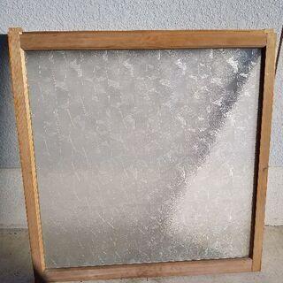昭和レトロ型板ガラス