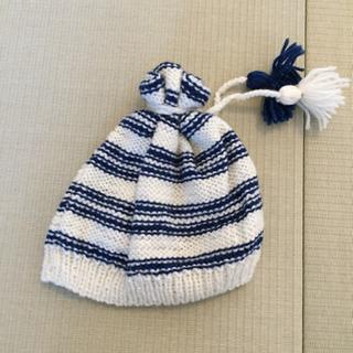 【リフレッシュプロジェクト109/300】手編みの帽子