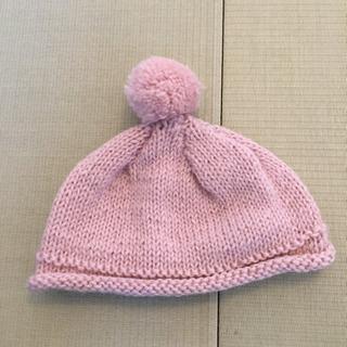 【リフレッシュプロジェクト110/300】手編みの帽子
