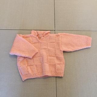 【リフレッシュプロジェクト115/300】手編みのセーター