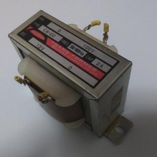 ジャンクの変圧器