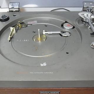 ジャンク パイオニア EX-500PL ターンテーブル