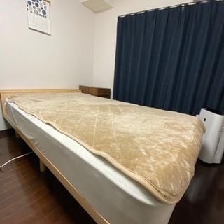セミダブルマットレス+ベッド