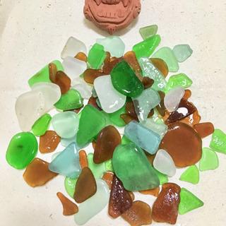 【新所沢】沖縄の海で集めた天然ビーチグラス