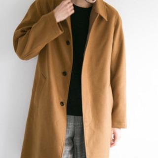 【美品】アーバンリサーチ ステンカラーコート キャメル Lサイズ