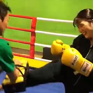 杉並区のキックボクシング&フィットネスジム。 日本一やさしい敷居...