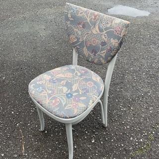 大特価! アンティーク 布張りチェア ダイニングチェア 椅…
