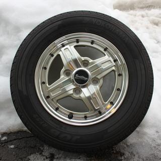 軽自動車ホイール&タイヤ4本セット美品