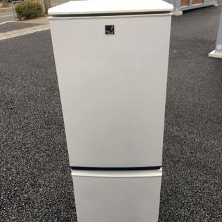 💕シャープ 2ドア冷蔵庫 SJ-17E8-KB