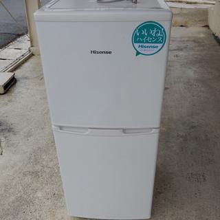 【2013年製】Hisense106リットル冷蔵庫