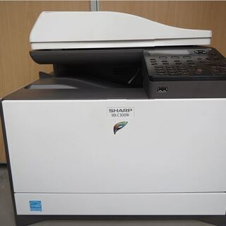 ☆ SHARP デジタルフルカラー複合機 MX-C300W無線L...