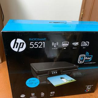 Hpインクジェットプリンター5521新品未使用品