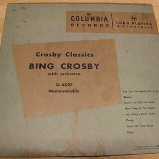 114【10in.LPレコード】CROSBY CLASSICS