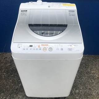 【配送無料】SHARP 5.5kg 洗濯乾燥機 ES-TG55K