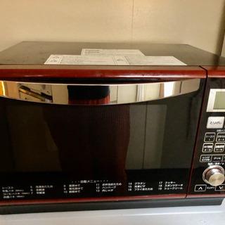 山善のオーブン電子レンジの画像