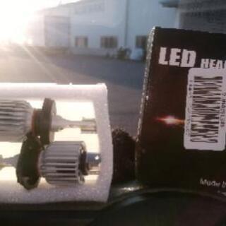 led h4 ヘッドライトの画像