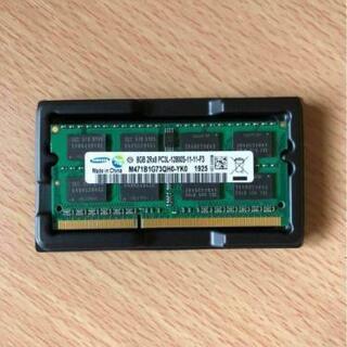 【新品】ノート用メモリー DDR3 PC3L サムソン2個セット...