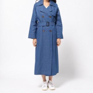 ロングデニムトレンチコート 定価¥3,9000