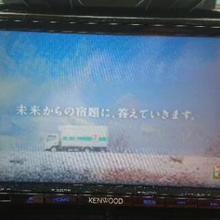 KENWOOD ナビ テレビ DVD再生可能 2015年 美品で...