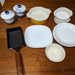 【受け取り先決定】お皿セット&燕三条フライパン