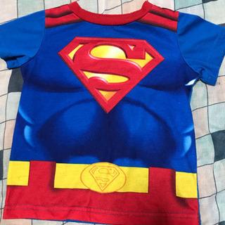 スーパーマンTシャツ、2T