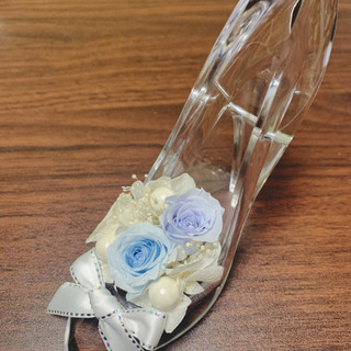 結婚式 リングピロー ディズニー ガラスの靴