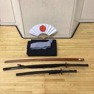【サムライ体験】殺陣剣舞 体験、サムライになりたい人