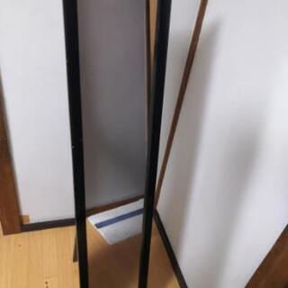 木製スタンド式ミラー