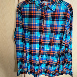 ユニクロ ネルシャツ チェックシャツ