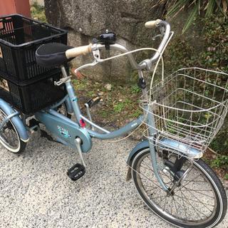 ミヤタ三輪自転車(スイングタイプ、LEDライト)