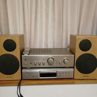 デノン CDプレーヤーDCD 755AE PMA-390III ...