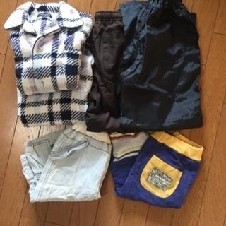 130cm男児 長パンツ、短パンツ、パジャマ