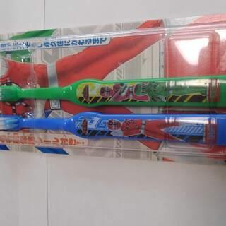 子供用歯ブラシ2本セット トッキュージャー