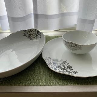 Francfranc 食器3点セット 平皿 カレー皿 小鉢