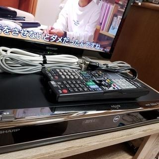 ☆W録ブルーレイ&HD液晶テレビ!アクオスBD-W550&LC-...
