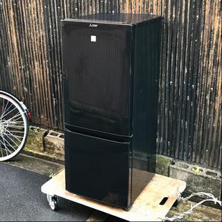 三菱電機 2ドア冷蔵庫 MR-P15EZ-KK