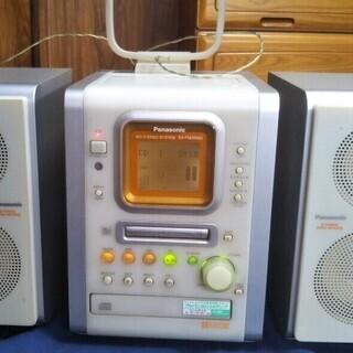 Panasonic  MD CD STEREO  品番=SA-P...