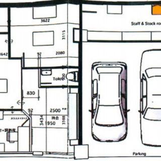 希少動物病院居抜きテナント♫1階駅近路面店舗です♫駐車場2台分付き♫