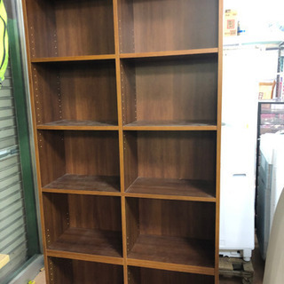 本棚 ❤ しげん屋 約160センチ×90センチ ブラウン